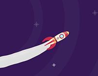 Estudos de Motion #1 - Rocket