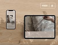 Digital Devices Mockup Freebie Vol.3