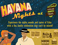Havana Nights Poster Design