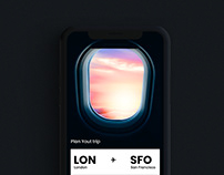 Flight booking App - Interaction design