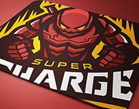 SUPERCHARGE Mascot Logo