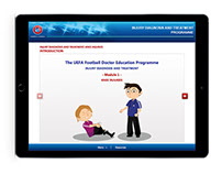 UFDEP - Football Doctor Education Programme for UEFA