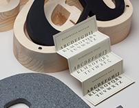 Epitypephio / Baskerville/ Experimental packaging