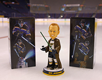 St. Louis Blues Star Wars Bobblehead