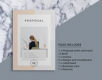 Proposal Pitch Pack