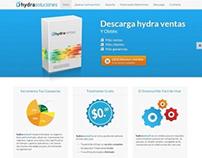 Sitio Web - hydra soluciones