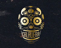 Calavera- Mexican restaurant branding & interior
