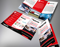 Contest winning design for a GRMT trifold brochure