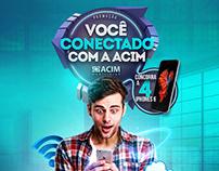 Campanha Sorteio iPhones | Acim