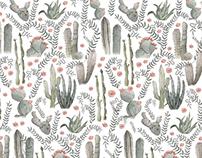 Wanderlust - Cactus Pattern