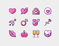 45+ Super Cute Love Icons – Best for Valentine's Day