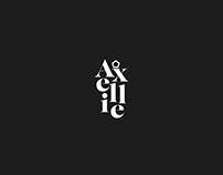 Maison Axellie Logo design & Branding