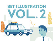 Illustration set VOL. 2