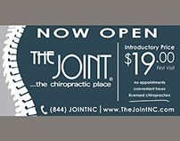 The Joint - NOW OPEN 8'x4' Banner