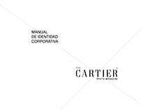 The Cartier Marca Manual de Identidad