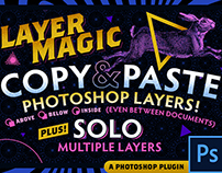 LayerMagic- Copy&Paste Layers In Photoshop!