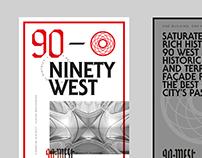 90 West