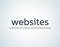 Websites - Just 'Home'