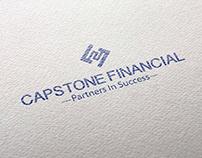propuesta de logotipo para capstone financial