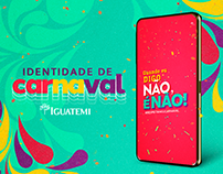 Carnaval Shopping Iguatemi | Identidade Visual