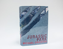 Book Jacket Version of Jurassic Park (Michael Crichton)