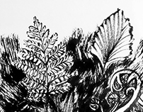 Chinese Ink Painting 05 - Plants