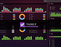 Taskly - Project Management App UX