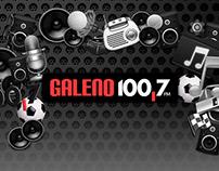 Galeno ESPN 100.7 Santa Fe - Re-branding 2017-2018