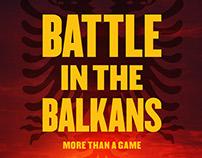 Battle in the Balkans - Documentary Key Art