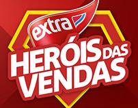 Campanha de incentivo Extra • Heróis das Vendas