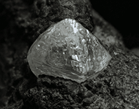Diamond found beneath the earth's surface