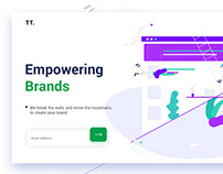 Company Website Landing Page 📏📏