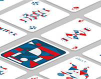 GEOMETRIC CARD DECK