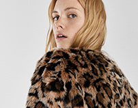 Animal leo print for Bershka