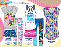 licensed girls apparel