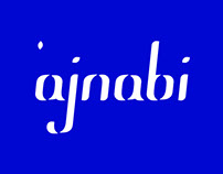 Display font - 'ajnabi