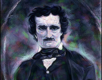 EDGAR ALLEN POE ILLUSTRATION