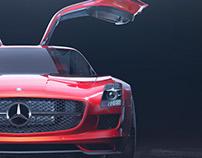 Mercedes-Benz SLS AMG Front