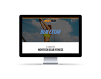 Academia Movitech Club Fitness Website