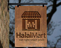 Halal Mart Vector Logo