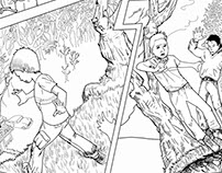 Zombie Comic (first 3 pages)