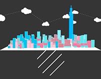 ART | 這個城市有一些臭蟲 /#001 / 天際失衡 / Skyline Imbalance.gif