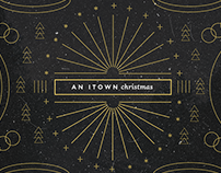 itown Christmas 2015 Artwork