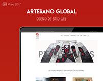 ARTESANO GLOBAL - DISEÑO WEB WORDPRESS - WOOCOMMERCE