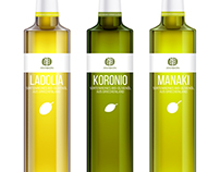 Anyfion Packaging for olive oil, caper & honey products
