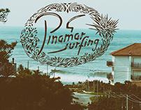 Pinamar Surfing Brand Logo