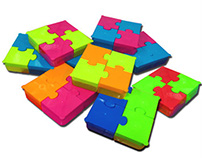 Puzzle Saklama Kabı - Ülker Teremyağ