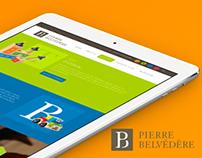 Pierre Belvédère B2B website
