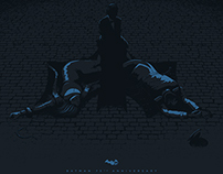 BATMAN 75TH ANNIVERSARY Poster