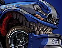 Blue Shark - BeastedUp!